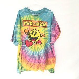 Pac-Man tiedye T-shirt